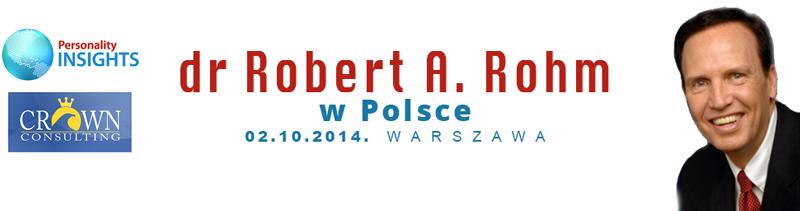 Robert Rohm w Polsce (2014)